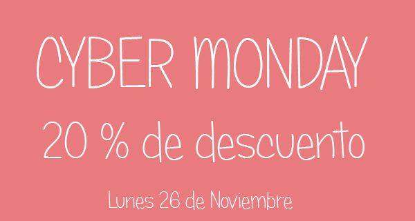 Y ahora, ¡Cyber Monday!