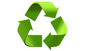 Platos de pizarra con el desarrollo sostenible