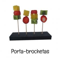 Porta brochetas